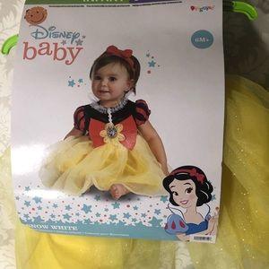 Disney Baby Snow White Infant Costume 6~12 months